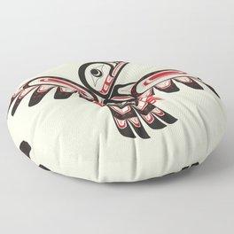 Salish Coast Humming Bird Floor Pillow