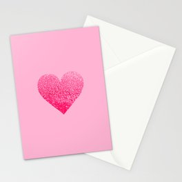 PINK PINK HEART Stationery Cards