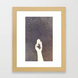 Handfull Framed Art Print