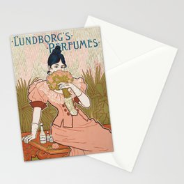 Victorian Era Perfume Ad Stationery Cards
