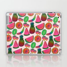 Rainbow fruits by Luna Portnoi Laptop & iPad Skin