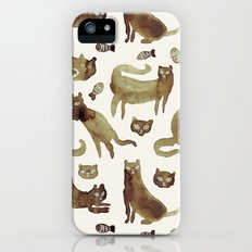 cats cats cats iPhone (5, 5s) Slim Case