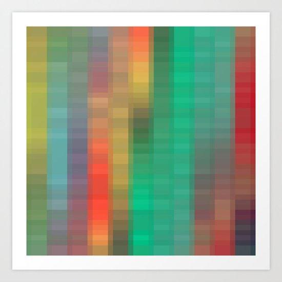 Links of Color Art Print