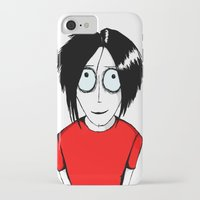 jack white iPhone & iPod Cases featuring Jack White by ArtByJonas
