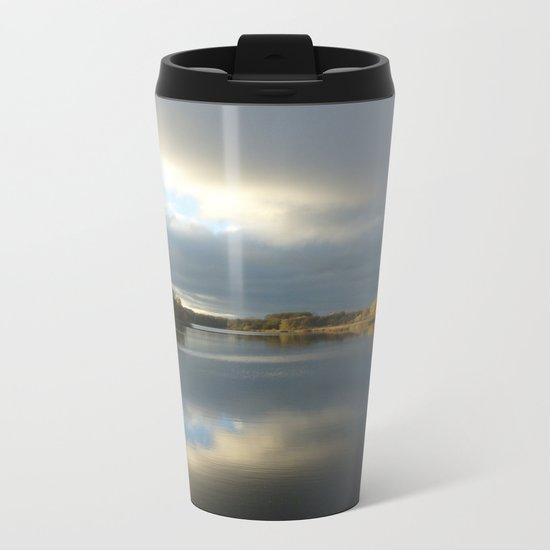 View   on the Lake Metal Travel Mug