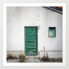 Doors of Perception 22 Art Print