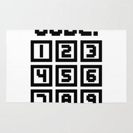 Enter Code (Keypad) Rug