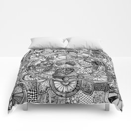 Mandala 4 Comforters