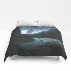 Landscape Mood #creek Comforters