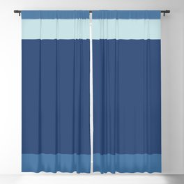 A beautiful adaptation of Columbia Blue, Dark Slate Blue, Off Blue and Queen Blue stripes. Blackout Curtain