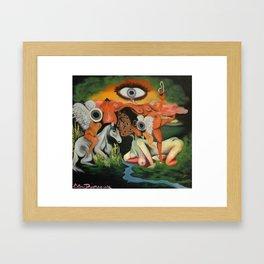 Hell's Angel's Framed Art Print