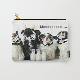 Cavalier King Charles Spaniel Cows Carry-All Pouch