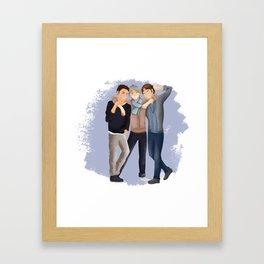 Haikyuu!! - Senpais Framed Art Print