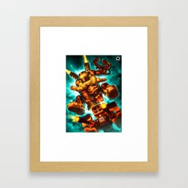 torbjorn over Framed Art Print