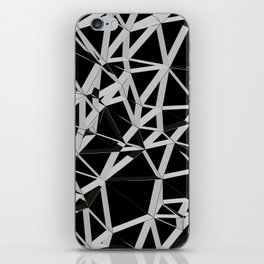 3D Futuristic GEO Lines V iPhone Skin