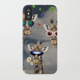 Animal Collection -- Let's Take  A Selfie iPhone Case