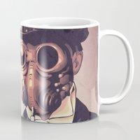 steampunk Mugs featuring Steampunk by FalcaoLucas