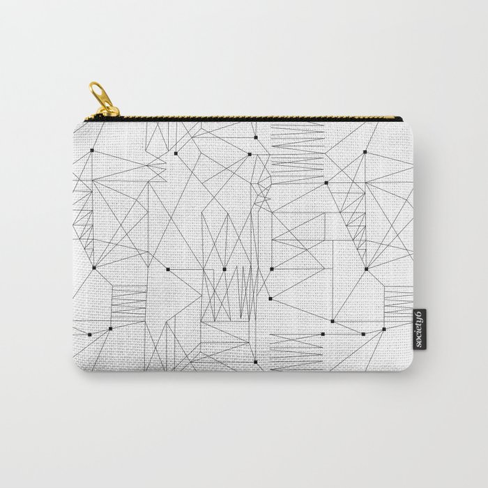 LINES OF CONFUSION Carry-All Pouch