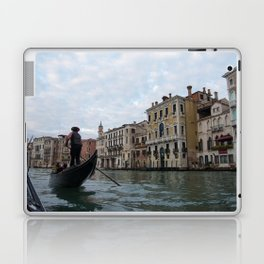 A Gondola Ride With Luca in Venice Laptop & iPad Skin
