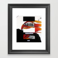 Untitled 1.87 Framed Art Print