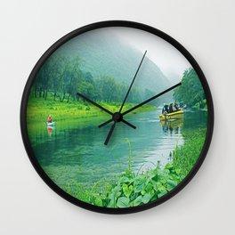 Oman Salalah 6 Wall Clock