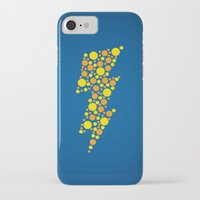 lightning iPhone & iPod Cases featuring Lightning by Danielle Podeszek