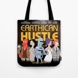 Earthican Hustle parody movie poster - B Tote Bag