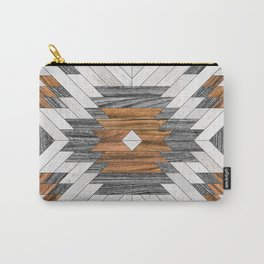 Urban Tribal Pattern 8 - Aztec - Wood Carry-All Pouch