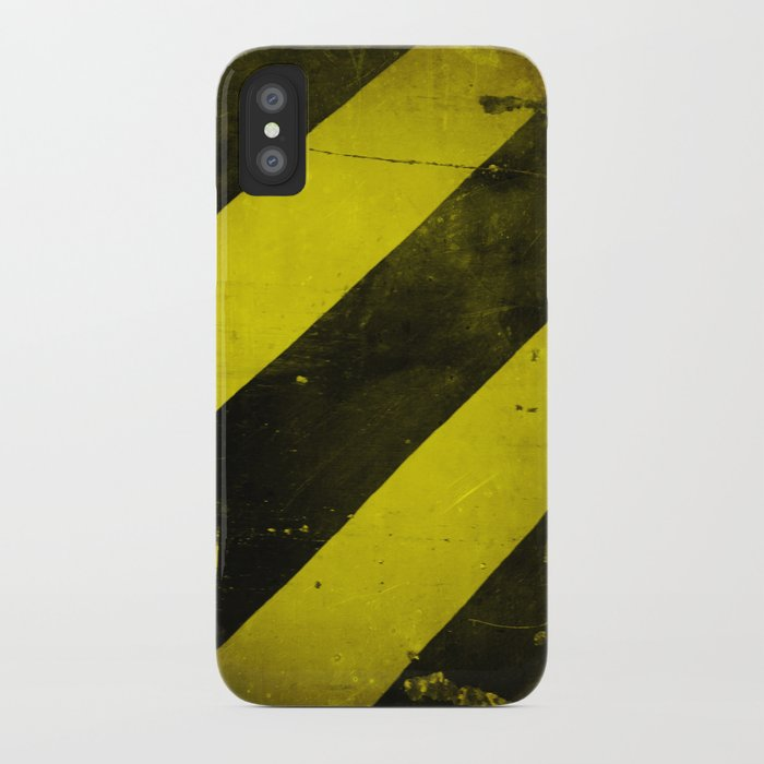 Warning II! iPhone Case