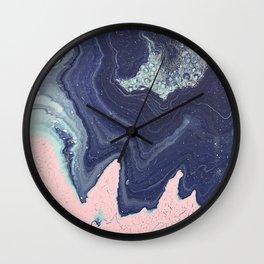 Fluid No. 11 - Geode Wall Clock