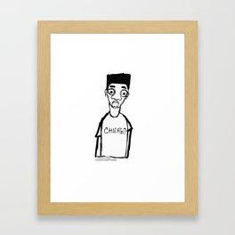 FRAY AND TAY Framed Art Print