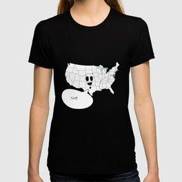 America the chill. T-shirt