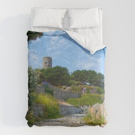 Once Upon a Guernsey Path Comforters
