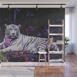 Tiger Tiger Burning Bright Wall Mural