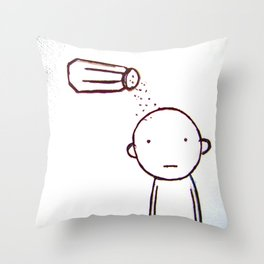 Bland Boy Throw Pillow