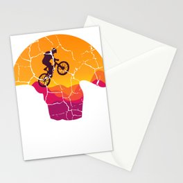 Don't Follow Me I Do Stupid Things Mountain Biker Gift Stationery Cards