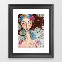 Nixie Framed Art Print