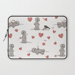 Broken hearted Voodoo Dolls Laptop Sleeve