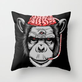 Inner Dialogue Throw Pillow
