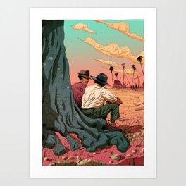 Let's Talk Art Print
