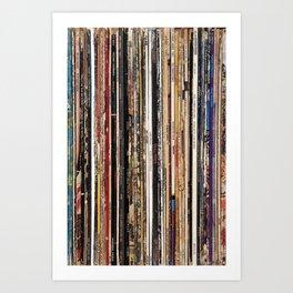 Jazz, Funk & Soul Vinyl Records Art Print