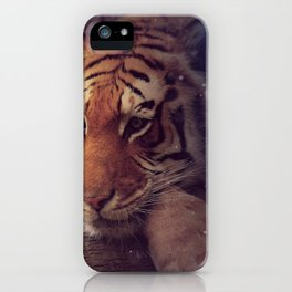 Fantastic Magical Fairytale Beast Chilling In Forest Watching Spirits UHD iPhone Case