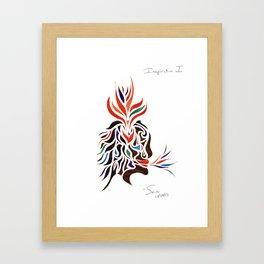 Inspiration I Framed Art Print