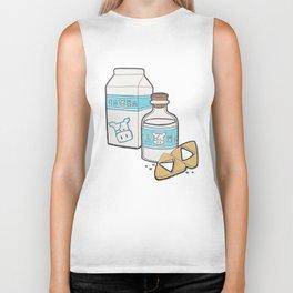 Lon Lon Milk & Cookies Biker Tank
