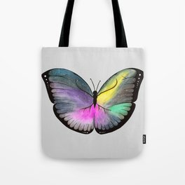 Space Butterfly Tote Bag