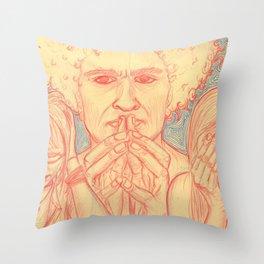 Sinful Ways Throw Pillow
