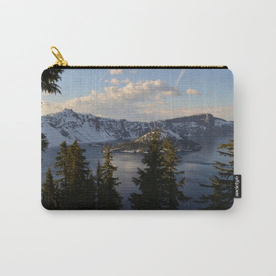 Crater Lake - Spring Carry-All Pouch