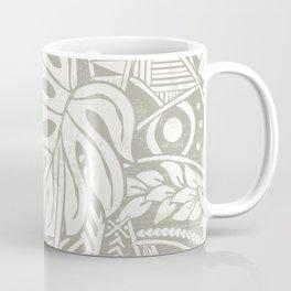 Vintage Organic Samoan Tribal Design Coffee Mug