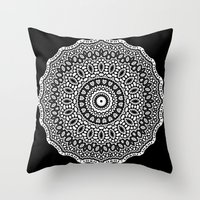 inception Throw Pillows featuring Inception by Mr. Pattern Man