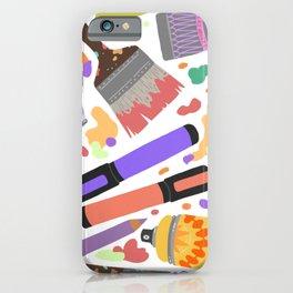 Make art #2 iPhone Case